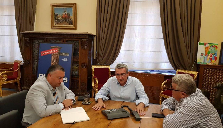 Διαβεβαίωση για τη συνέχιση λειτουργίας των υποκαταστημάτων σε Λειψούς, Τήλο και Κάσο, έλαβε ο Περιφερειάρχης από τη διοίκηση της Alpha Bank