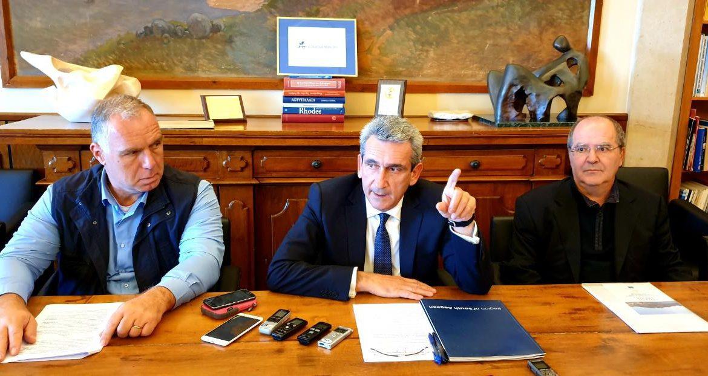 Υπογραφή Μνημονίου Συνεργασίας της Περιφέρειας Ν. Αιγαίου με φορείς του Πανεπιστημίου Δ. Αττικής με στόχο την μετατροπή μικρών νησιών του Ν. Αιγαίου σε «έξυπνα νησιά»