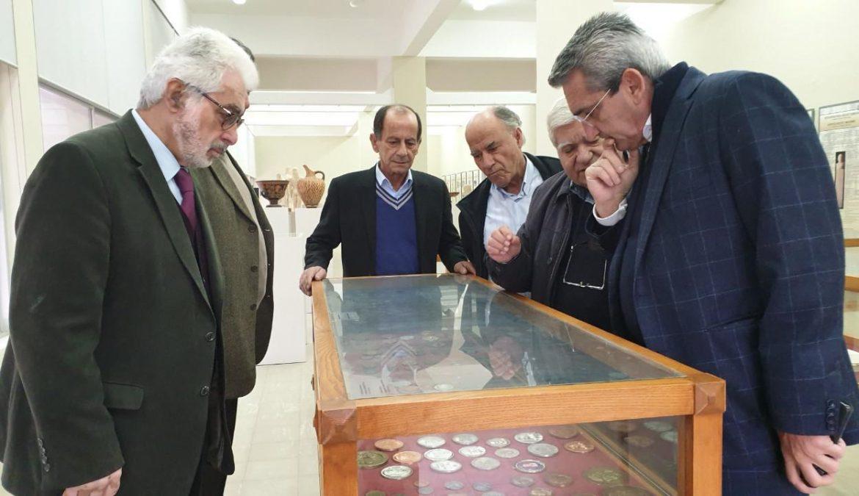 Ο Περιφερειάρχης, στο Διεθνές Ιπποκράτειο Ίδρυμα Κω, το οποίο η Περιφέρεια χρηματοδοτεί με 500.000 ευρώ, για την δημιουργία πρότυπου περιβαλλοντικού  πάρκου της ιστορίας της Ιατρικής