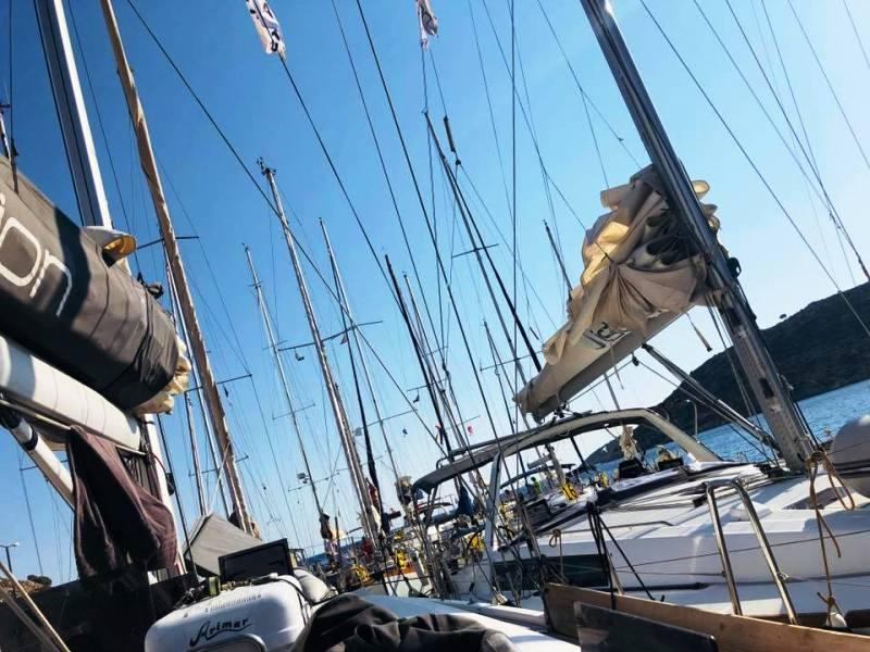 Ξεκίνησε στην Λέρο ο 9ος Διεθνής Ιστιοπλοϊκός Αγώνας Ανοικτής Θάλασσας «Göran  Schildt Regatta»