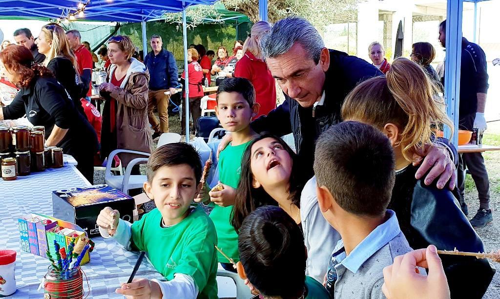 Μεγάλη συμμετοχή στην 13η Γιορτή Λουκουμάδων και Τηγανίτας στην Αρχίπολη