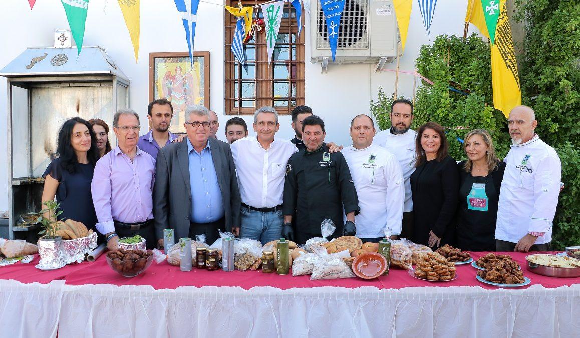 """Με άρωμα και γεύση από την πλούσια γαστρονομία του Αρχαγγέλου, η δράση """"Aegean mamas know best"""", στο πλαίσιο της """"Γαστρονομικής Περιφέρειας της Ευρώπης – Νότιο Αιγαίο 2019"""""""