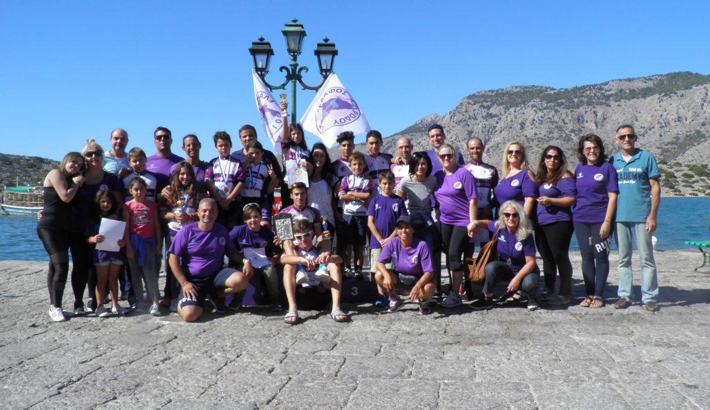 Με την συμμετοχή 80 αθλητών/τριών και την στήριξη της Περιφέρειας Νοτίου Αιγαίου, πραγματοποιήθηκε η «4η Ανάβαση Πανορμίτη 2018»