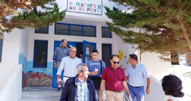 Με την στήριξη της Περιφέρειας Νοτίου Αιγαίου, θα υλοποιηθούν τα έργα που έχει ανάγκη η Αντίπαρος