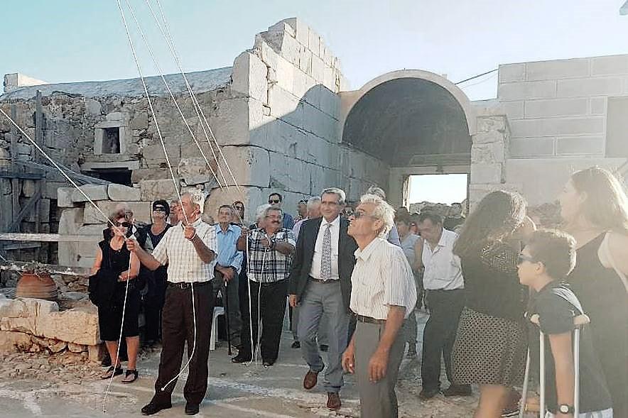 Στην μεγαλύτερη γιορτή στο νησί της Ανάφης, τη Σύναξητης Παναγίας Καλαμιώτισσας,σήμερα ο Περιφερειάρχης