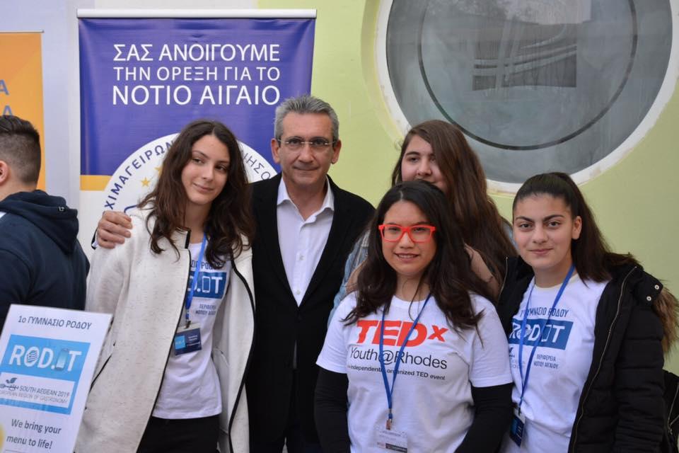 Οι «Μαμάδες του Αιγαίου» έδωσαν το »παρών» στο 2ο TEDxYouth Rhodes