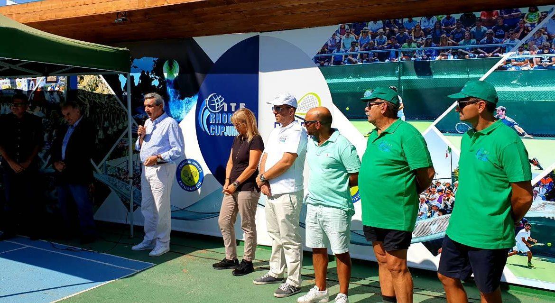 Από την Περιφέρεια Νοτίου Αιγαίου η επισκευή και συντήρηση των γηπέδων τένις Δήμου Ρόδου