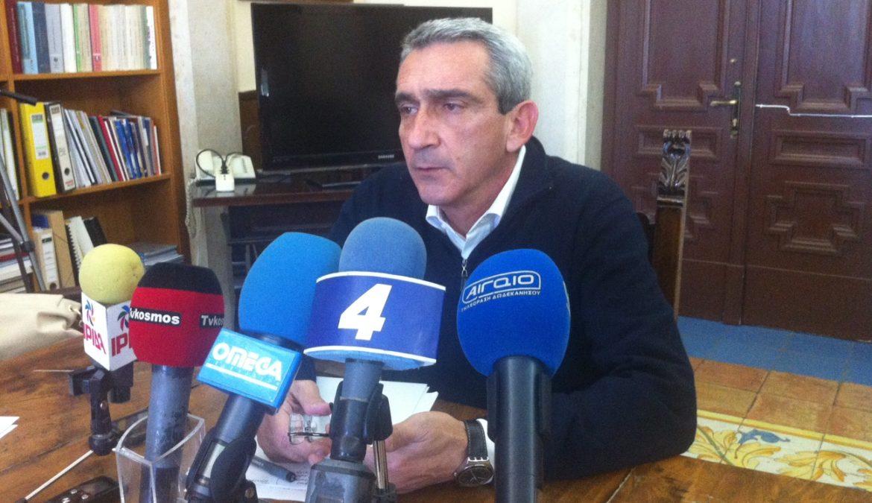 Κύρια σημεία της συνέντευξης Τύπου του Περιφερειάρχη Νοτίου Αιγαίου κ. Γιώργου Χατζημάρκου , τη Δευτέρα 13 Οκτωβρίου 2014