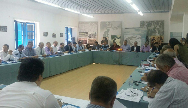 Με συμβολισμούς και μηνύματα, στο Καστελλόριζο η συνεδρίαση του Περιφερειακού Συμβουλίου Νοτίου Αιγαίου