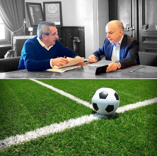 Νέο προπονητικό γήπεδο στα Μαριτσά και εγκατάσταση χλοοτάπητα και ηλεκτροφωτισμού στο γήπεδο Λαέρμων, από την Περιφέρεια Νοτίου Αιγαίου