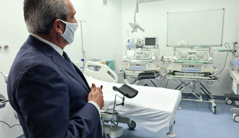 Το νέο Νοσοκομείο Καρπάθου σε λειτουργία, επισκέφθηκε ο Περιφερειάρχης, Γιώργος Χατζημάρκος