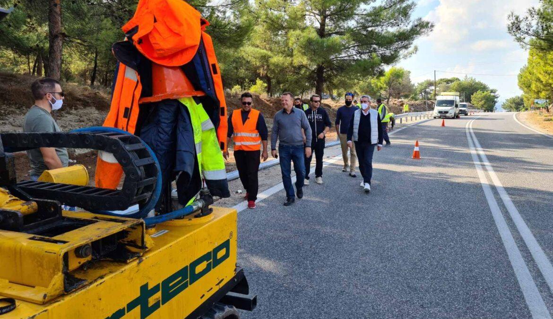 Σε 3 μήνες θα έχει ολοκληρωθεί το μεγαλύτερο  έργο οδοφωτισμού και ασφαλείας του Επαρχιακού οδικού δικτύου του νησιού της Ρόδου