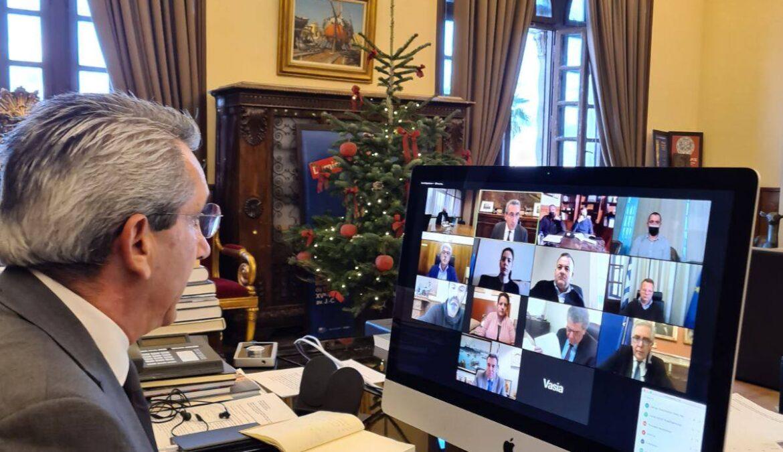 Λύση για την άμεση μετεγκατάσταση και αποκατάσταση του Κτηματολογίου Ρόδου από την ευρεία σύσκεψη που συγκάλεσε ο Περιφερειάρχης Ν. Αιγαίου με την ηγεσία του Υπουργείου Δικαιοσύνης