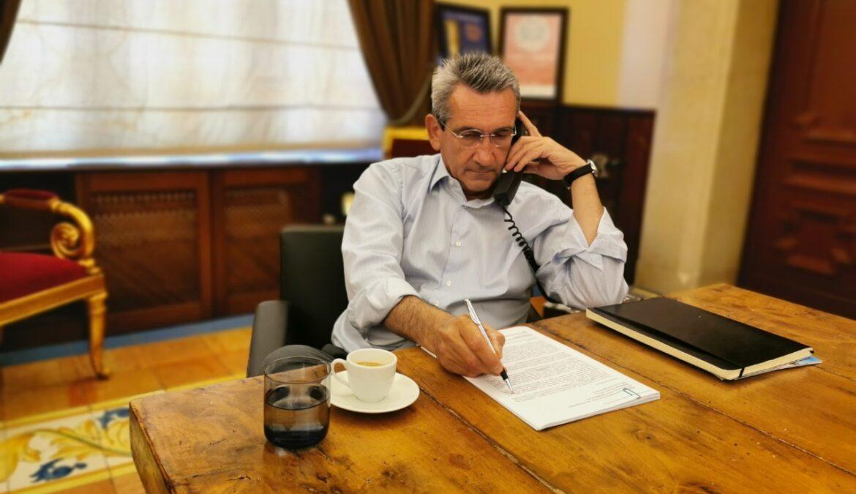Ο Περιφερειάρχης Νοτίου Αιγαίου Γιώργος Χατζημάρκος παραχώρησε συνέντευξη στην «kedenews.gr»