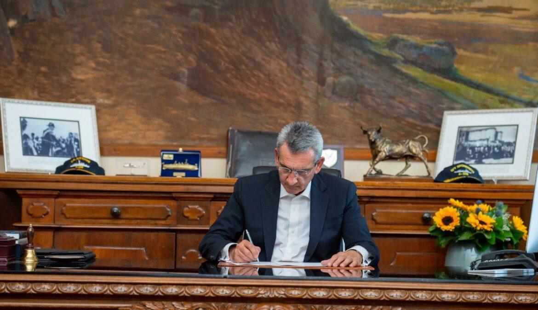 Από την Περιφέρεια Νοτίου Αιγαίου η εκπόνηση των μελετών για την επέκταση προβλήτας λιμένα Αγαθονησίου