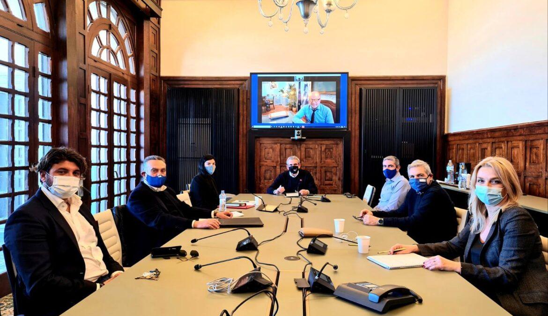 1η συνεδρίαση του Διοικητικού Συμβουλίου της εταιρείας «Κ2 Α.Ε.  – Αναπτυξιακός Οργανισμός Περιφέρειας Ν. Αιγαίου»