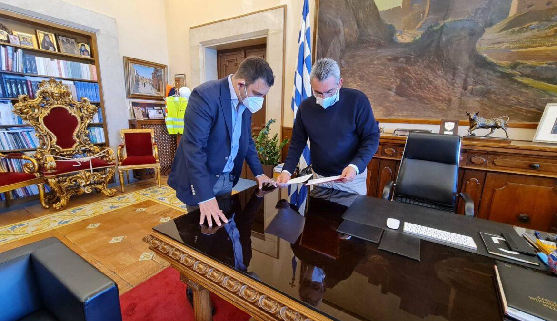 Κοινή πρόταση Περιφέρειας Νοτίου Αιγαίου, Δήμου Μεγίστης και ΤΕΕ Δωδ/σου για την προστασία του λιμανιού του Καστελλορίζου