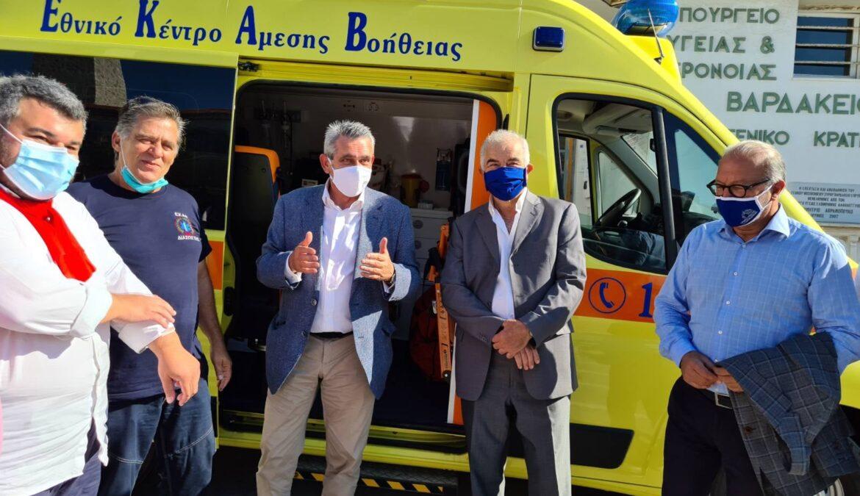 Γιώργος Χατζημάρκος: «Κάθε ευρώ ευρωπαϊκών πόρων της Περιφέρειας, έπιασε τόπο. Στην Υγεία, πρωτίστως»